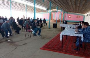 Очередной выездной прием граждан в Нурабадском районе