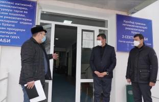 Самарқанд вилояти прокурори ва ИИБ бошлиғининг навбатдаги ўрганиш манзили олис Нуробод тум…
